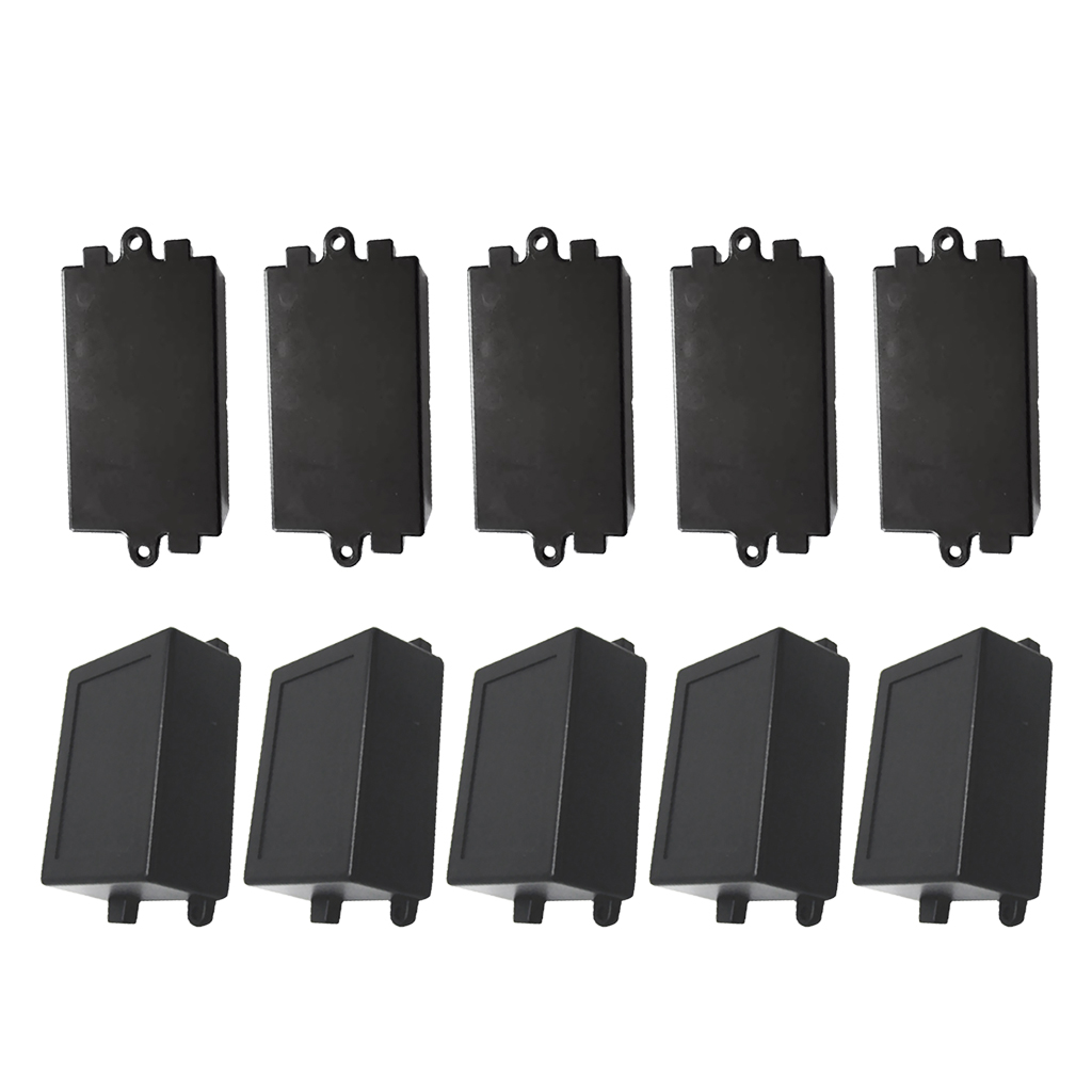 10 Pieces ABS Plastic Enclosure Small Project Box For Relay Module S+L sonance small is enclosure короб