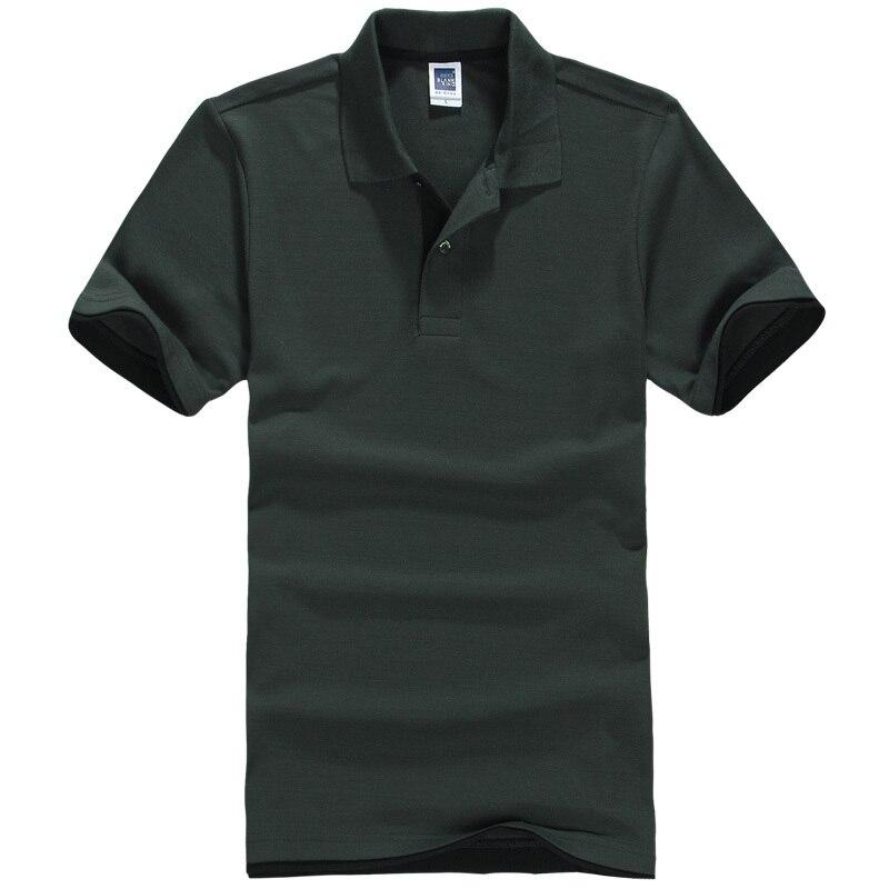 brand New Summer printing Men   Polo   Shirt Casual Cotton Short Sleeve Male   Polo   Dress Men Brand Clothing 66572