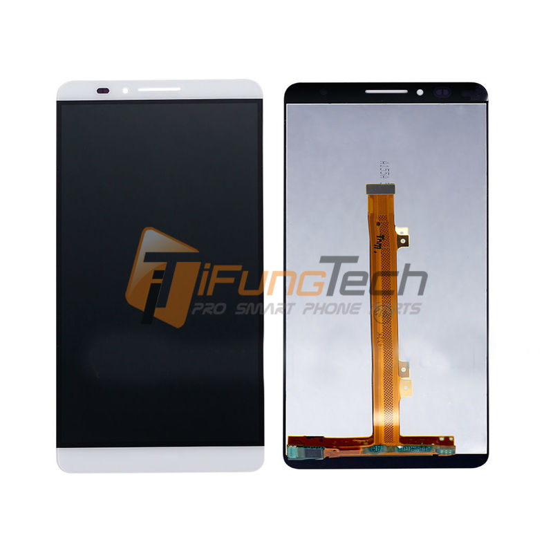 High Quality For Huawei Ascend Mate 7 LCD Display+Touch Screen Digitizer Black White Gold Color 1 Piece 6 0 lcd display digitizer touch screen with frame for huawei ascend mate 7 mt7 white black gold free shipping