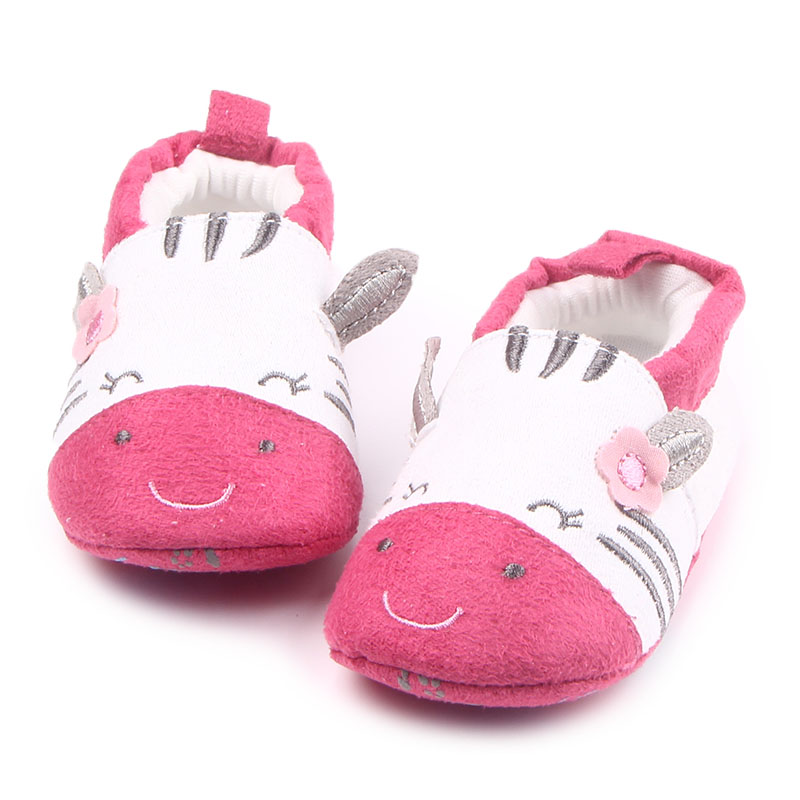 2 Colors New Arrival Cute Cows Sign Cotton Comfortable Shoes Newborn Baby Girls Boys Shoes For 0-15 Months