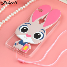 Bosilang Phone Cases Covers For Huawei P8 Lite 2017 Huawei P9 Lite 2017 Honor 8 Lite Nova Lite GR3 2017 Rabbit Silicone Case