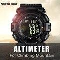 NORTHEDGE Relógio Digitais dos homens Relógio Esportes Ao Ar Livre Para Caminhadas de Montanha Escalada Altímetro Barômetro Relógio Inteligente relógio de Pulso NE7.