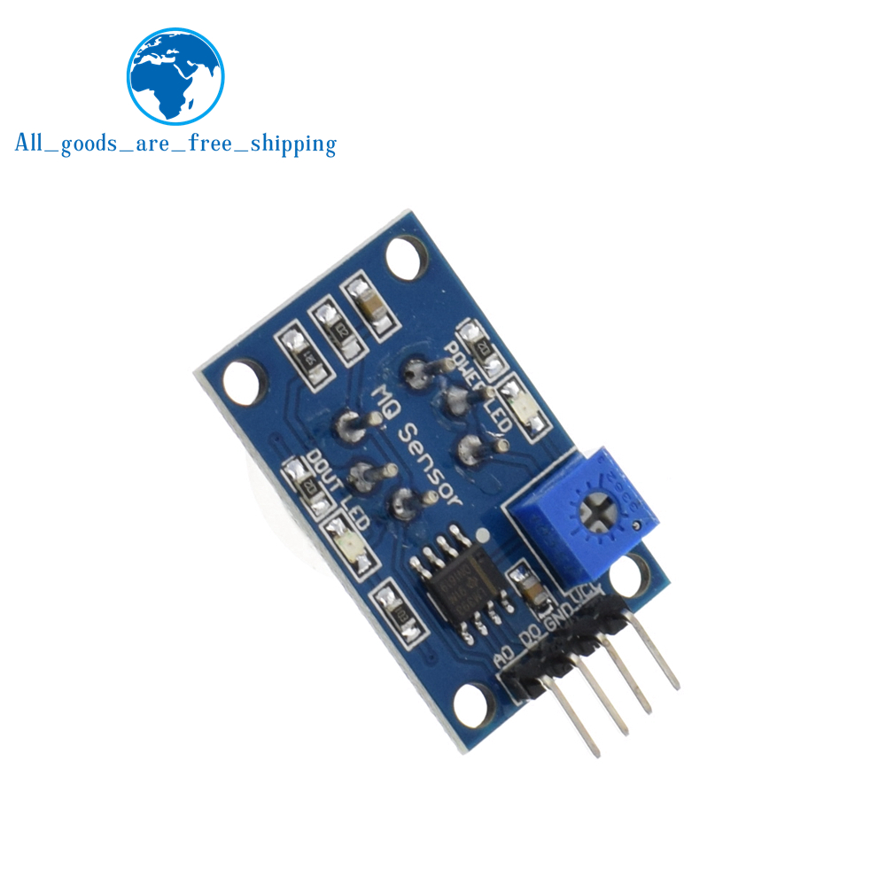Tzt Mq 2 Mq2 Smoke Gas Lpg Butane Hydrogen Sensor Detector How To Build A Circuit With Raspberry Pi Module For Arduino In Sensors From Electronic Components Supplies On