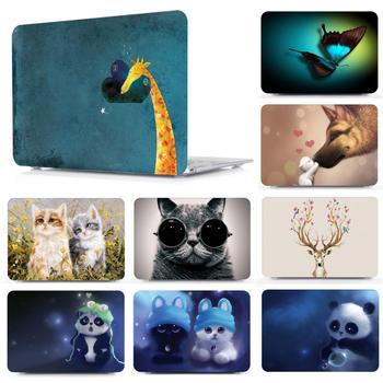 цена на New pattern Case  For Apple MacBook Air 11 13 inch Laptop case for 12 Macbook Pro Retina 13 15 16 inchs Touch bar+keyboard Cover