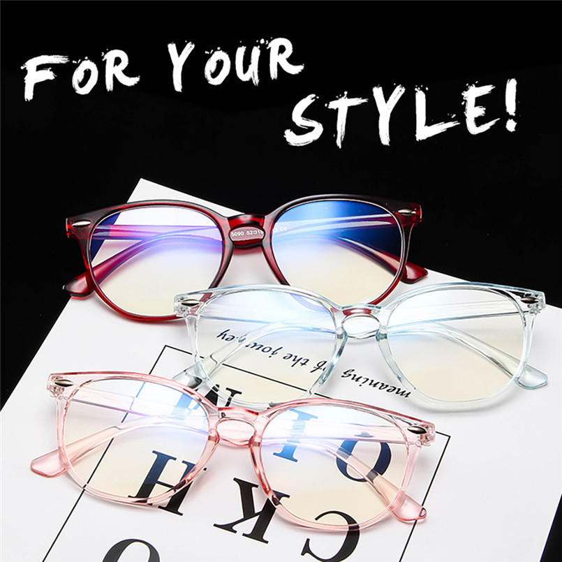 Light Weight Women Spectacle Optical Frame Glasses Clear Lens Lady Vintage Computer Anti-Radiation Eyeglasses Outdoor 30LY24 (5)