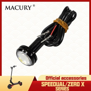 LED Light for Speedual T10-ddm Zero10X Zero 10X Electric Scooter Deck Light Front Light Rear Light Original Spare Parts(China)