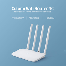 WIFI Router Repeater Xiaomi Mi Home Antennas Roteador APP 4C 2 300mbps for Control-64-Ram