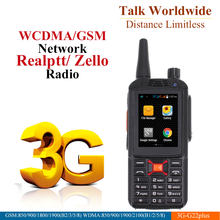 3G Android Walkie Talkie G22 más Poc red Radio del teléfono intercomunicador resistente teléfono inteligente Zello REAL PTT Radio F22 Plus(China)