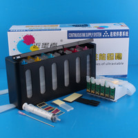 Universal 6Color Continuous Ink Supply System CISS Kit with Accessaries Ink Tank For EPSON Artisan600 700 800 810 835 837Printer