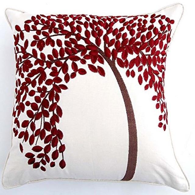 Xkm decoración del hogar el árbol de vida del bordado del estilo del ...