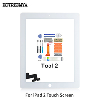 replacement home button Touch Screen Digitizer For Apple iPad2 3 4 5 Air Front Glass Display Touch Panel Replacement With Home Button Flex+Repair Tools (1)