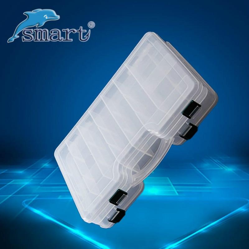 Hohe Qualität Doppelseitige Tragbare Kunststoff Angeln Box 29 * 19 * - Angeln - Foto 2