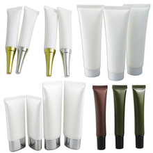 1PCS X Cosmetic Soft Tube plastic Lotion Containers Empty Makeup squeeze tube Refilable Bottles Emulsion Cream Packaging free shipping 50pcs 5g empty pp cosmetic hose tube cream lotion shampoo containers emulsion handcream facial cleanser soft tubes