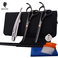 Smith Chu Titanizing Cutting Scissors 5 5 Inch 440C Stainless Steel Professional Salon Barber Thinning Scissor