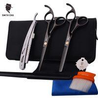 Smith Chu Titanizing Cutting Scissors 5 5 Inch 440C Stainless Steel Professional Salon Barber Thinning Scissor