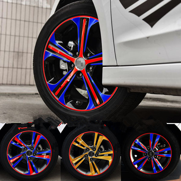 Plated Brightly 16 Inch Wheels Rims Sticker For Hyundai Elantra Ba041a Rim Sticker Sticker For Rimwheel Rim Stickers Aliexpress