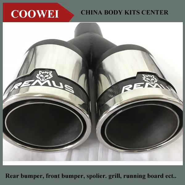 Bmw dual exhaust tips