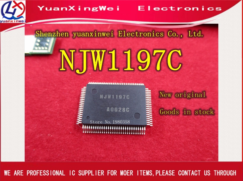 1 pcs x NJW1197 NJW1197C IN STOCK LOWEST PRICE **NEW** FREE SHIPPING! new in stock zus64815