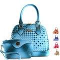 Bolsa das mulheres 2017 primavera nova moda mão-de malha versão coreana do messenger bag shell star com o parágrafo bolsa de ombro