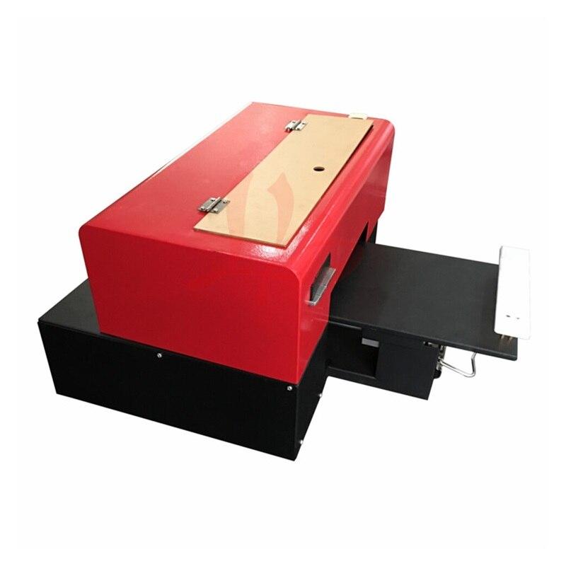 Knap Mini Uv Flatbed Printer Ly A41 Max Print Maat 205x260mm Print Hoogte 30mm 6 Kleuren Nozzle Max Resolutie 1440 Dpi Compatibel Elegant En Sierlijk