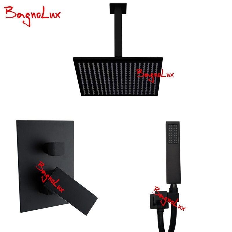 Bagnolux Premium Qualidade de Bronze Do Banheiro Preto 8