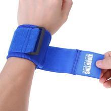 1 Pair Adjustable Cotton Wrist Support Bandage Wraps Gym Fitness Wristbands Breathable Compression Wrap Wrist Brace Guard 2Color
