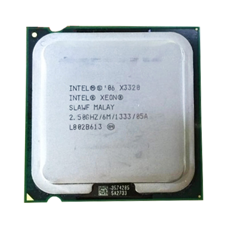 INTEL Xeon Quad Core X3320  Cpu (2.5GHz /6M Cache /FSB 1333 )still Have Sale  Intel X3320 LGA775 CPU