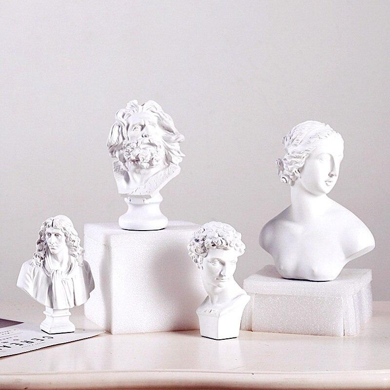 Dollhouse miniature figurine sculpture Giuliano de/' Medici Statue Bust Resin