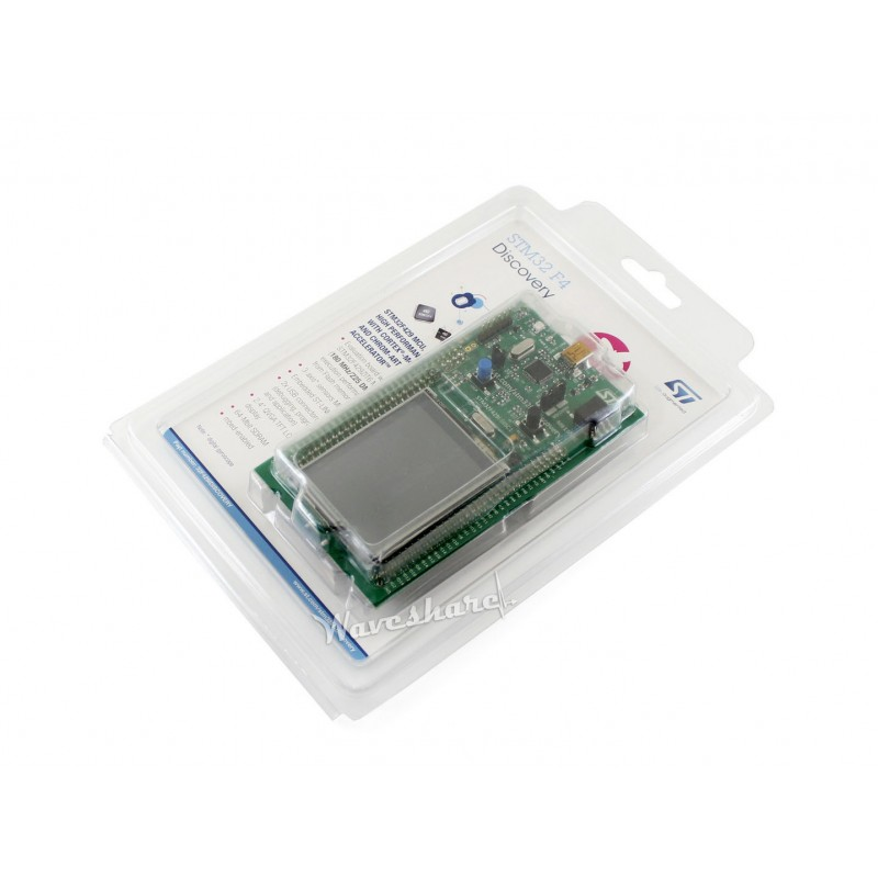 Подробнее о 32F429IDISCOVERY, STM32 Development Board Discovery kit with STM32F429ZI MCU 32f429idiscovery stm32 development board discovery kit with stm32f429zi mcu