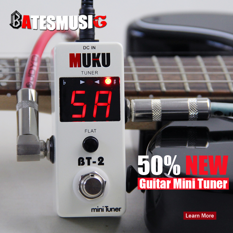 buy new effect guitar pedal tuner mini tuner electric or electro acoustic. Black Bedroom Furniture Sets. Home Design Ideas