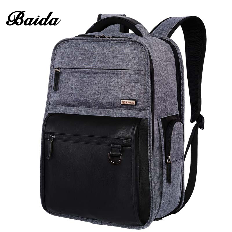Top Quality Business Backpack High Level Custom TailoredI Famous Brand Traval Backpacks with Leather Organizador pocketsTop Quality Business Backpack High Level Custom TailoredI Famous Brand Traval Backpacks with Leather Organizador pockets