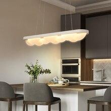 Акриловый светодиодный подвесной светильник современный cerchio anello lampadario подвесной современный подвесные светильники для столовой Бар офисный свет