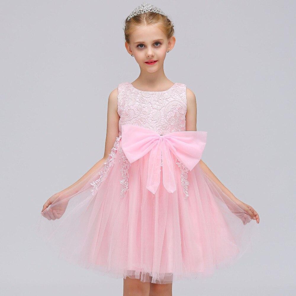 2018 New Girls Princess Dress baby kids lace tulle tutu frocks For Wedding Birthday Dresses costumes For 2 4 6 8 10 12 Years платье для девочек unbrand baby v 2 6 kids dress