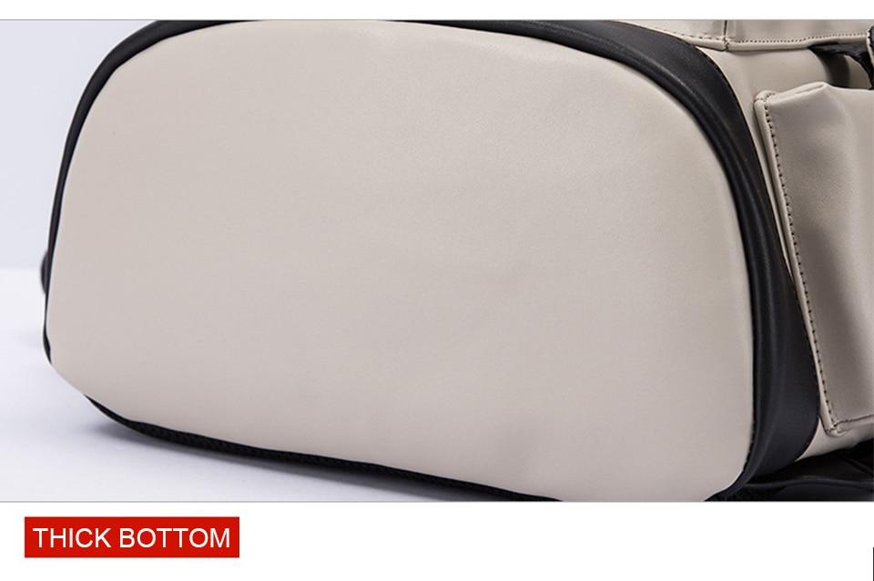 Cuir PU-Sac à dos-Hommes-Ordinateur portable-17-Pouces-Sac à dos-15.6-Homme-Femmes-Sacs-à-dos-Étanche-Bagpack-USB-Charging-Notebook-Bag_14