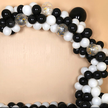 30pcs/lot 2.2g Pearl Black White Silver Latex Balloons Birthday Wedding Party Decorations Air Helium balloons Kids Gifts baloons