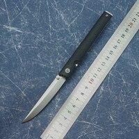 OEM CEO 7096 flip folding knife ball bearing 8cr13mov blade nylon handle outdoor camping multi purpose hunting EDC tool