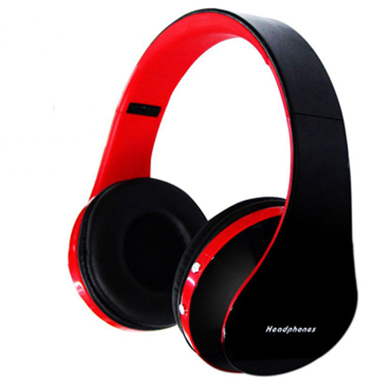 2016 Discounted Wireless Stereo Bluetooth Heaphone Foldable EDR Earphone Handsfree Headset Mic MP3 FM for Smart Phones Tablet PC