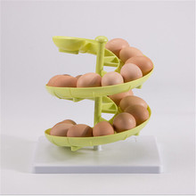 Plastic Egg Baskets Spiral Racks Kitchen Storage Racks Egg Storage Boxes And Racks