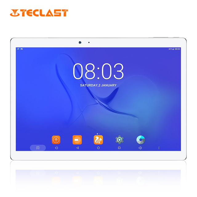 Teclast maestro T10 10.1 pulgadas Tablets PC Android 7.0 mtk8176 hexa Core 1.7 GHz 4 GB 64 GB Sensor de huella digital dual WiFi/cámaras OTG