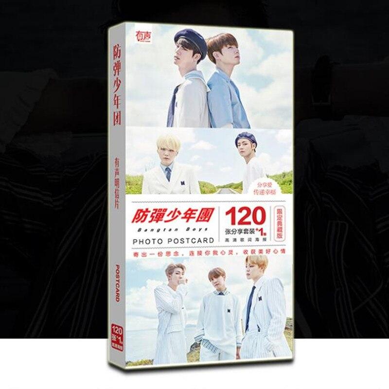 Kpop  Bangtan boys LOVE YOURSELF Happy Ever Album EXO Twice Got7 Seventeen Monsta x photo photocards postcards poster 121pcs bts v warriors jacket