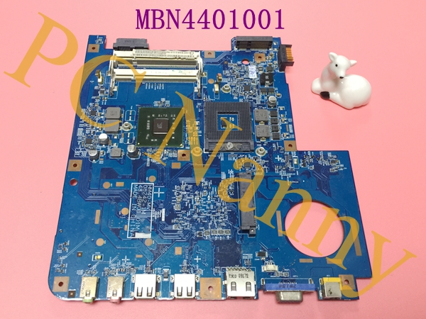 FOR EMACHINES D525 LAPTOP MOTHERBOARD MB.N4401.001 MBN4401001 48.4BW01.01M DDR2 GM45 + free CPU fully working