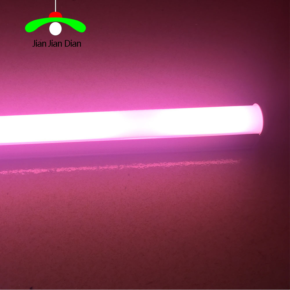 LED Tube Light T5 led tube 6W 10W SMD 2835 300mm 600mm Lamps AC85~265V Pink Cold /Warm White lampada LED Plant lampspotlight 10w ac 110v 220v integrated led tube light bulb t8 led lamp tube 600mm smd 2835 wall lamps cold warm white lampada led spotlight
