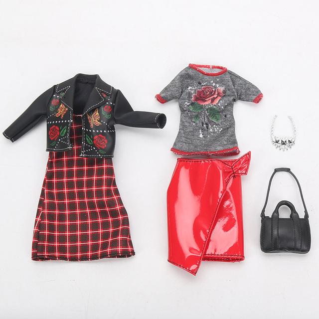 Trendy Barbie Doll Fashion Clothes