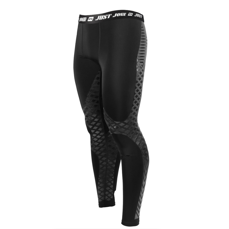 ФОТО Men Bodybuilding Running Tights Baselayer Compression Pant Performance Athletic Leggings xxl Joggers Gear Training Tights