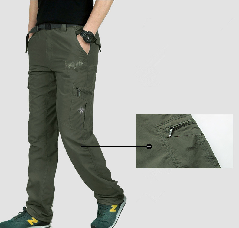 HTB1lBdaXcfrK1Rjy1Xdq6yemFXaC Men's Military Style Cargo Pants Men Summer Waterproof Breathable Male Trousers Joggers Army Pockets Casual Pants Plus Size 4XL