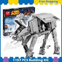 1157pcs Space Wars Universe New 05051 AT AT DIY Model Building Blocks Tank Robots Sets Boys Gifts Bricks Compatible with Lego