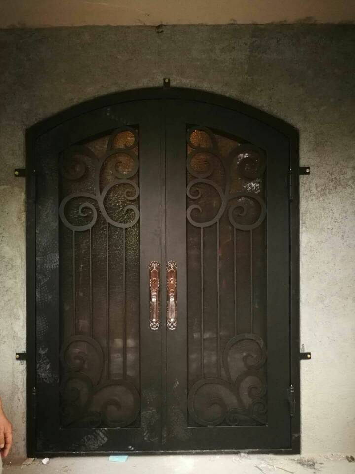 Wrought Iron Door Cost Wrought Iron Entry Doors Prices