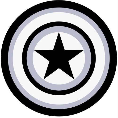 かわいい漫画ラウンドカーペットリビングルームキッズルーム敷物キャプテンアメリカのための