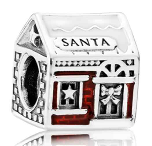 מכירה לוהטת קריסטל בית צב כתר פתית שלג פיל מיני חרוזים Fit פנדורה קסמי שרשראות לנשים DIY תכשיטים