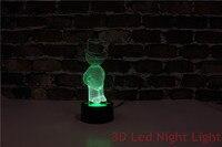 Darmowa wysyłka salon wykazują 3D oświetlenie Led lampka nocna z certyfikat CE i UL YJM 2891 w Oświetlenie nocne LED od Lampy i oświetlenie na